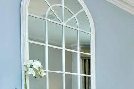 window pane mirrors white home decor arch mirror wall decor wall to wall mirror white framed window pane mirrors