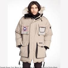 Canada Goose Coat Mens Uk Canada Goose Men s Snow Mantra Parka Khaki