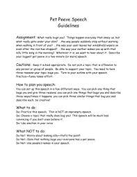 pet peeve persuasive essay pet peeve speech