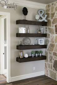 diy floating shelves for my living room i ll just do it myself craft house projects decorative shelving ideas wall