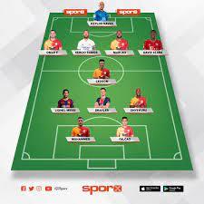 UEFA Konferans Ligi'ni Alır Sporx İlk11