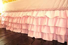 pink bed skirt full burlap bed skirts king burlap daybed dust ruffle burlap ruffled white full pink bed skirt full