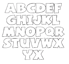 Lettering Stencils To Print Printable Letter Stencils Templates Printables Letter Stencils