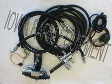 tractor front end loader 3rd third function hydraulic valve kit kubota tractors front end loaders