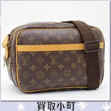 louis vuitton messenger bag. louis vuitton (louis vuitton) m45254 reporter pm monogram shoulder bag camera messenger