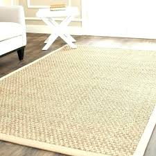 sisal rugs with borders blue sisal rug leather border