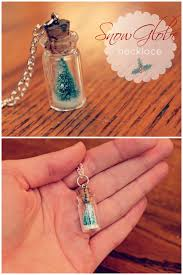 if your best friend is a lover of jewelry then you can t go wrong with this super creative and adorable snow globe necklace check out the tutorial here