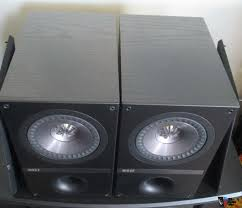 kef q100. kef q100 bookshelf speakers for sale 2