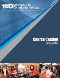 Course Catalog - Metropolitan Community College