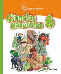 5330 libros pdf de santillana hipertexto ciencias naturales 7 grado. Ciencias Naturales 6