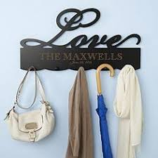 Personalized Family Coat Rack HomeFamily Coat Rack Couple gift idea Free up the closet with 61