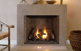 image of traditional direct vent gas fireplace