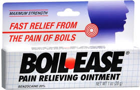 Boil-Ease Maximum Strength <b>Pain Relieving Ointment 1</b> oz ...