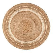 anji mountain bamboo rugs kerala sunrise jute round 4 ft area rug