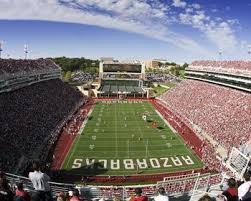 Donald W Reynolds Razorback Stadium Picture At Arkansas