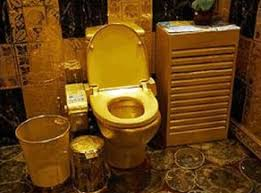 man cave bathroom. Perfect Bathroom You Can Spruce Up Your Throne By Making It Just That Why Not Install A  Gold Plated Throne Just Look At The Russell Simmonsu0027 Bathroom With Midas Touch Throughout Man Cave Bathroom R