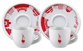 Bialetti <b>Набор кофейных пар</b> Moka Roma 4 предмета 80 мл ...