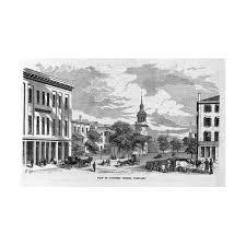 View In Congress Street Portland Maine Print Wall Art