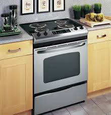 Electric cooking stoves Kitchen Featuring The Brands Truetemp Baking System This Electric Slidein Oven From Ge Is Simple Straightforward And Easytouse Option For The Home Cook And Safetycom Ultimate Guide To Oven Safety Buying Tips Reviews And Our List Of