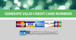 Credit Generator Card And Validator Valid 4SxqHwnvq