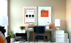 If your guest bedroom is very small, you should substitute a bed for a convertible sofa, which doesn't take much space yet gives enough sleeping space at the same time. Home Office Guest Room Guest Bedroom Office Combo Living Room Bedroom Combo Ideas Multipurpose Guest Room Office Multipurpose Guest Room Guest Bedroom Office