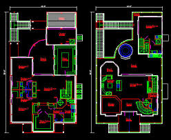 684x560 floor plan sample house autocad