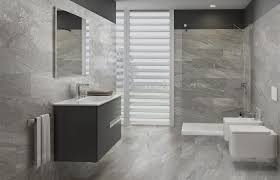 Refresh your home with a new bathroom sink, vanity or bathtub. 12x24 River Grey Cut Stone Look Porcelain Tile