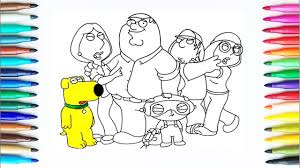 How To Draw Family Guy Drawing