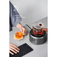 Bếp điện mini hồng ngoại nhỏ gọn pha trà cà phê Moka pot bialetti giá cạnh  tranh