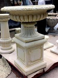 jefferson urn pedestal