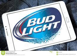 Bud Light Logo Bud Light Beer Logo Editorial Photo Image Of Emblem 97353581