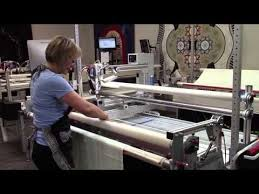 79 best Innova images on Pinterest   Long arm quilting machine ... & Learn how to load a quilt onto the frame of your Innova Longarm machine. Adamdwight.com