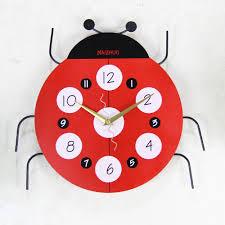 Ladybug Bedroom Popular Ladybug Clock Buy Cheap Ladybug Clock Lots From China