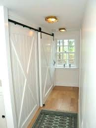 hallway linen closet doors door makeover hall hal
