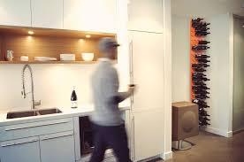 floortoceiling stact wall mounted wine rack