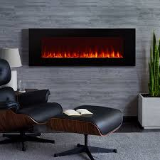 real flame 50 in dinatale wall mount electric fireplace 1330e bk