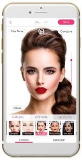 youcam makeup delivers red carpet celebrity looks with beauty augmented reality technology business wire