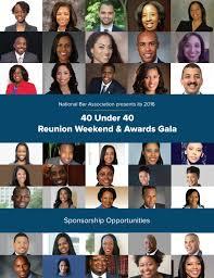 "National Bar Association ""40 under 40 Best Advocates"" sponsor brochure for  2016 by aubreypittman - issuu"