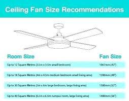 ceiling fan size for bedroom ceiling fan size for room ceiling fan sizes ceiling fan coverage ceiling fan size for bedroom