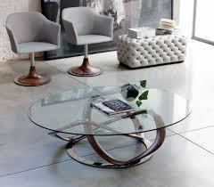 oval glass coffee table oval coffee