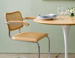 Cesca Chair with Saarinen Table