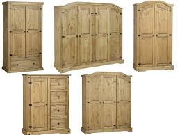 Mexican Pine Bedroom Furniture Corona Wardrobes 2 3 Amp 4 Door Solid Mexican Pine Bedroom