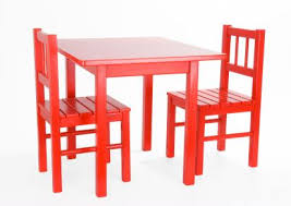 Red toddler table and chairs set Adventages of Toddler Table Chairs | LoveToKnow
