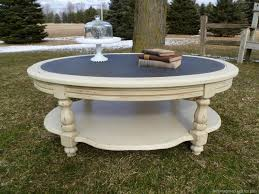 coffee table extraordinary painted ideas photos white round wood ideaspainting several colorschalk hand chalk