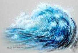 "Bright teal cyan color hand drawn old death crash destroy scene emblem logo sign retro art comic style design. How To Draw Angry Tsunami Wave In Pastel Time Lapse À¸§à¸²à¸""คล À¸™à¸¢ À¸à¸© À¸"" À¸§à¸¢à¸žà¸²à¸ªà¹€à¸—ล À¸""ล À¸™à¸ª À¸™à¸²à¸¡ À¸¨ À¸¥à¸›à¸à¸£à¸£à¸¡ À¸""ล À¸™"