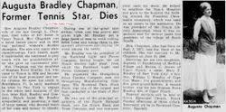 Augusta Bradley Chapman (1873-1949) - Find A Grave Memorial