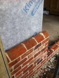 brick plinth bespoke brickwork garage office