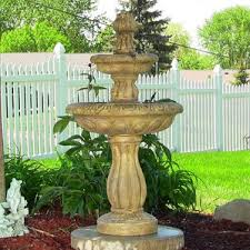 9 Best Solar Powered Water Features Images On Pinterest  Solar Solar Water Features With Lights