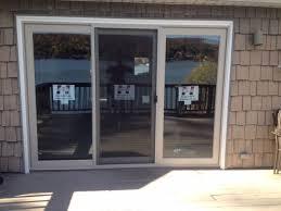 3 panel sliding glass door brilliant patio doors andersen for