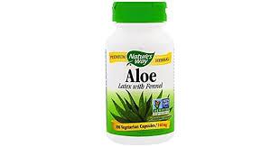 Nature's Way, <b>Aloe</b>, <b>Latex With Fennel</b>, 140 Mg, 100 Veggie Caps ...